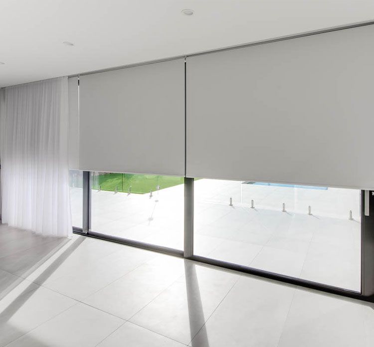 Indoor Roller Blinds By Luxury Blinds Bali