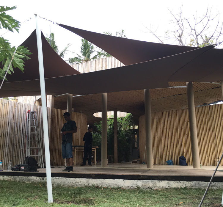 Membrane Canopy By Luxury Blinds Bali