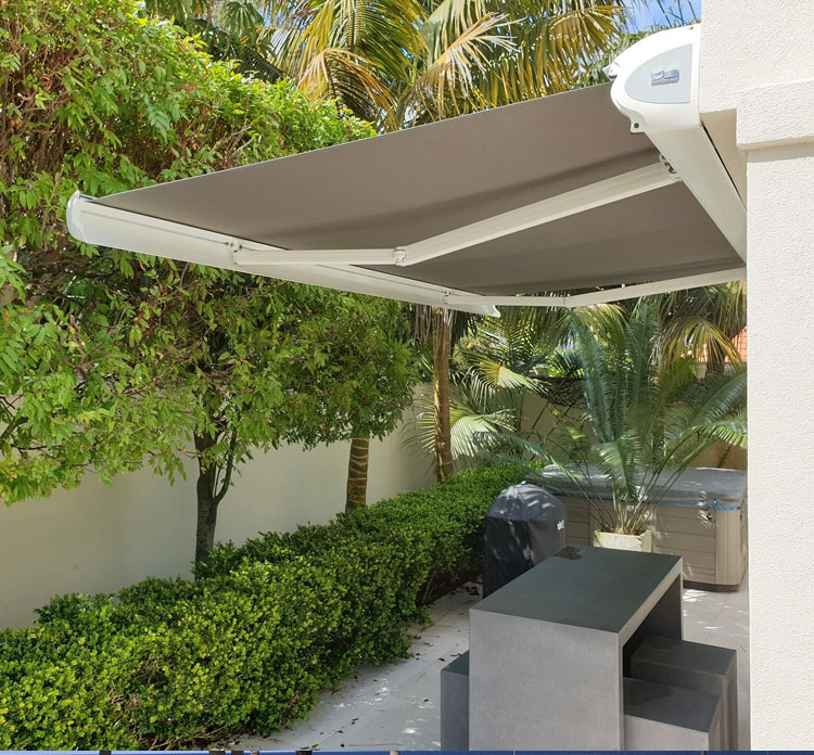 Retractable Awning By Luxury Blinds Bali