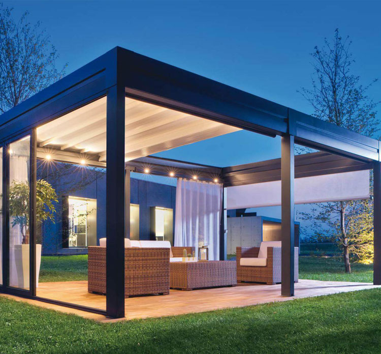 Retractable Pergola By Luxury Blinds Bali